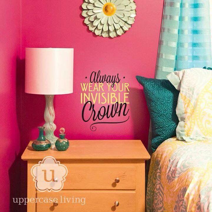 Little girls room, so cute.  Http://ericah.uppercaseliving.net