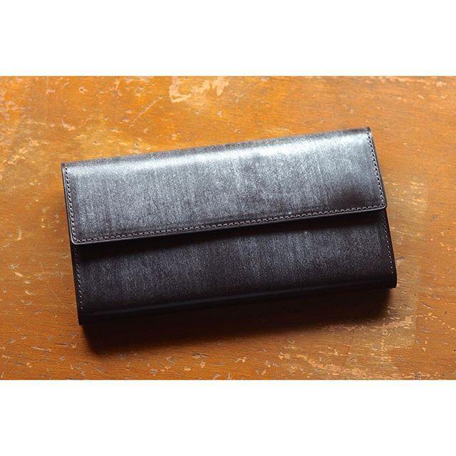 custom made | long wallet  #leatherwork #leathercraft #custommade #bespoke  #bridleleather #niwaleathers