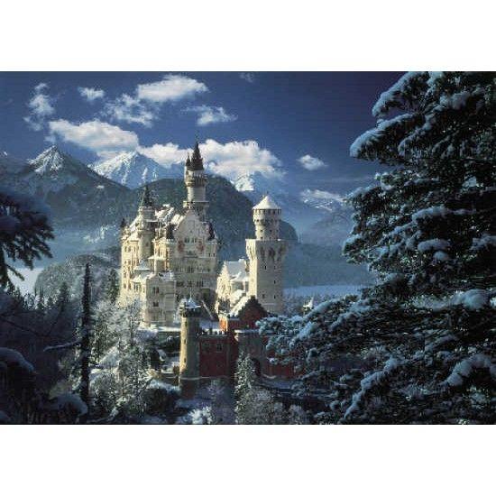 """Puzzle """"Neuschwanstein al tramonto"""" 1000 pz - #31390, Mondopuzzle.com   Foto Puzzle   Puzzle Arte   Vendita Puzzle   Puzzle 3D  """
