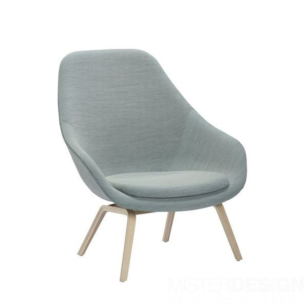 About a Lounge Chair High AAL93 Fauteuil - Hay About a Lounge Chair High AAL93 Fauteuil - Hay