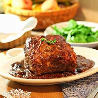 Este lomo de cerdo en salsa de ciruela pasa es una receta simplemente deliciosa, sencilla y muy elegante, aparte es muy fácil de preparar.