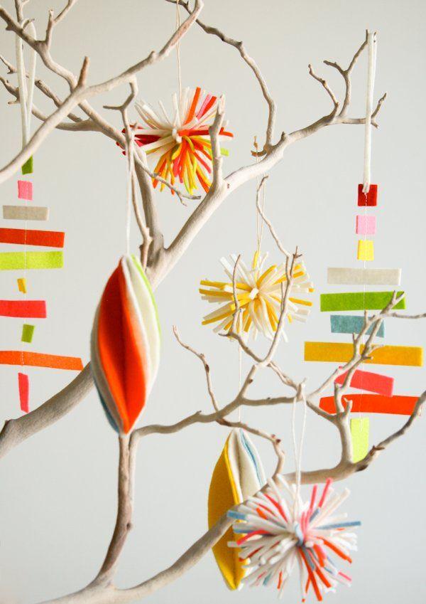 DIY Christmas Crafts: 18 Homemade Holiday Ornament Ideas