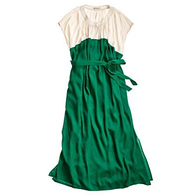 I do believe I need this green dress, $178, and some more money to buy it
