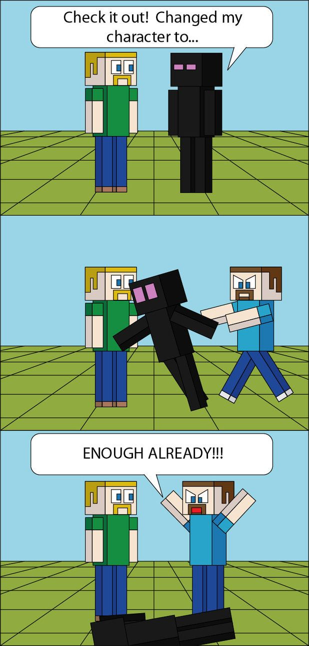 Funny Minecraft Comic Strips Child Oldest