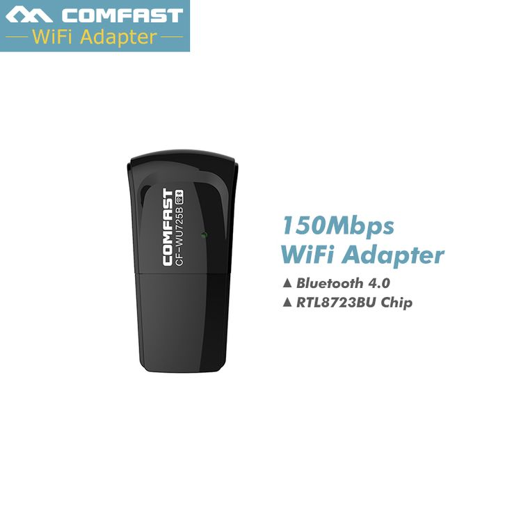 Hot ! Mini USB WiFi Adapter 150Mbps Wifi Receiver Wireless Network Card Bluetooth Adapter 802.11n/b/g WiFi Dongle lan Adaptador #Affiliate