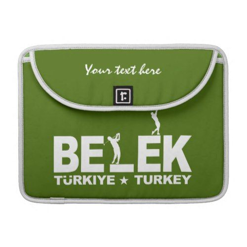 BELEK GOLF custom MacBook sleeve