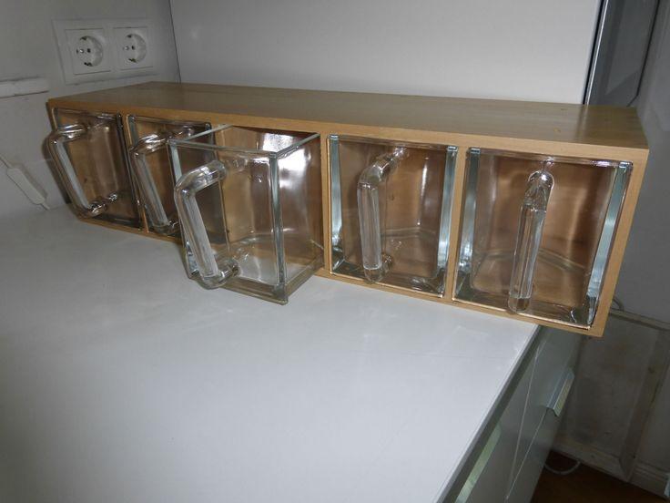 Elegant Regal mit Glassch tten Ikea gebraucht in M bel u Wohnen M bel Regale u Aufbewahrung