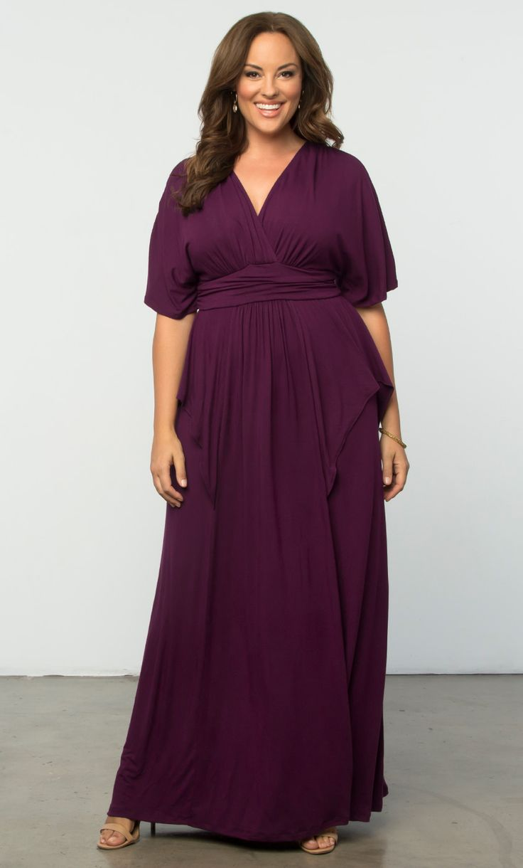 Check out the deal on Indie Flair Maxi Dress at Kiyonna Clothing