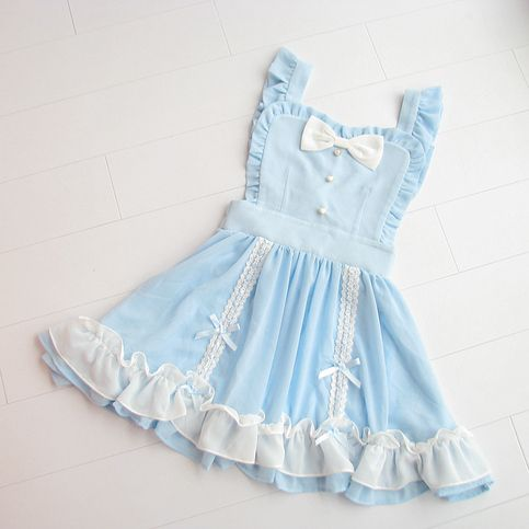 Fabric: Chiffon  M skirt length (without straps) 46 cm, waist 64 cm, hem 200 L  skirt length (without straps) 47 cm, waist 68 cm, hem 204 LL skirt length (without straps) 48 cm, waist 72 cm, hem 208