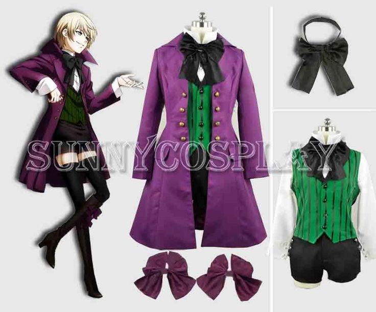 Black Butler Ii Alois Trancy Ciel Cosplay Costume Handmade C002
