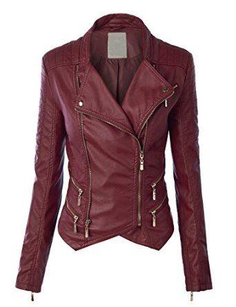 Like the structure, double pocket zippers, 'vest' hem bottom.