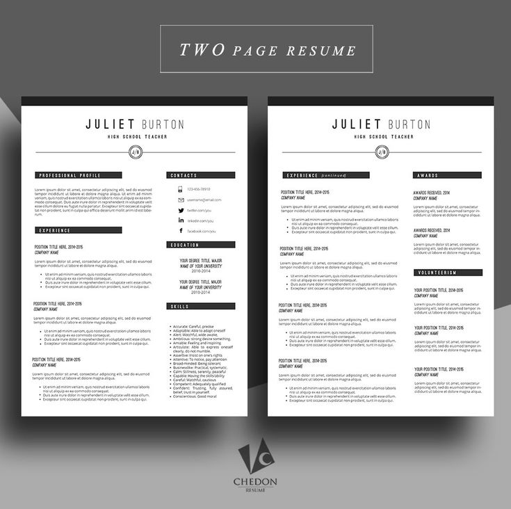 The 25 best resume writing format ideas on pinterest cv format professional resume template cv template resume by chedonresume yelopaper Choice Image