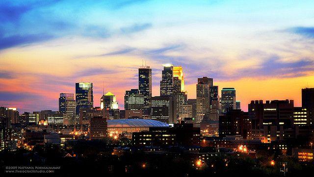 Free Minneapolis Skyline | Minneapolis Skyline | Flickr - Photo Sharing!