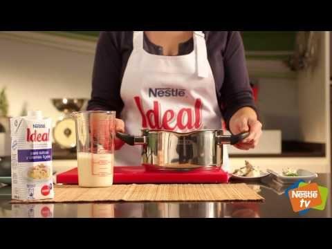 Crema de calabacín al roquefort - Recetas de Cocina Nestlé