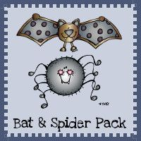 Free Bat & Spider Pack - over 70  pages fro ages 2 to 8 - 3Dinosaurs.com