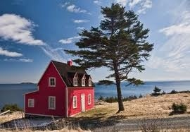 Newfoundland salt box....thank you for sharing, this house is about 10min from where my parents live....✔️
