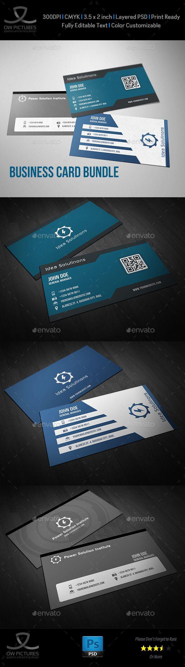 Corporate Business Card Bundle Vol.6