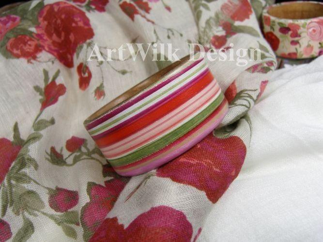 Roxana-Bransoletka ręcznie malowana - Artwilk