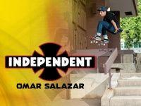 Videos Independent Trucks: Omar Salazar - Vídeo lançado pela Independent Trucks com o skatista profissional Omar Salazar, patrocinado por Alien Workshop, Nike SB, Independent, Spitfire, Bones, Levis nasceu em Sacramento CA, ele é Regular e atualmente esta com 29.