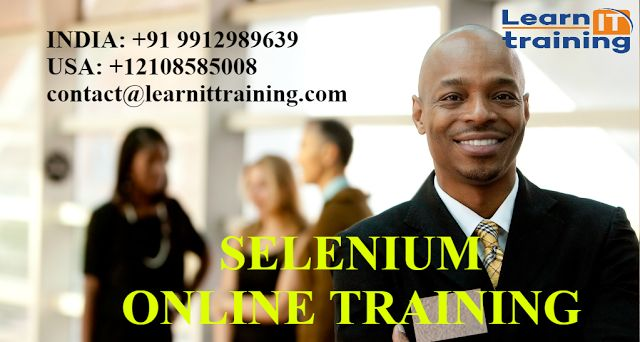 Testing Tools Online Training: SOFTWARE AUTOMATE TESTING- SELENIUM ONLINE TRAININ...