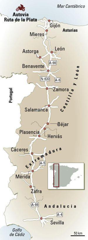 Via de la Plata: La Ruta 66 ibérica | El Viajero | EL PAÍS