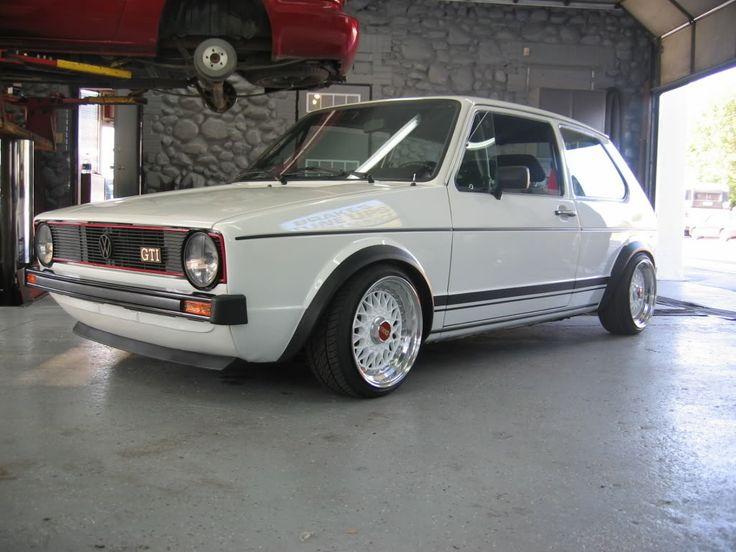 Punch Buggy Volkswagen >> VW Golf GTi Retro Custom #MK1   Golf gti   Pinterest   Mk1, Photos and Rabbit