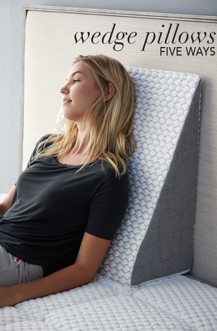 You've got your Brentwood Home wedge pillow and it looks fantastic in your space, but do you know all of the ways you can use it to customize your perfect rest? See the list to learn how a wedge pillow can help with health issues like sleep apnea, acid reflux, poor circulation, and more.