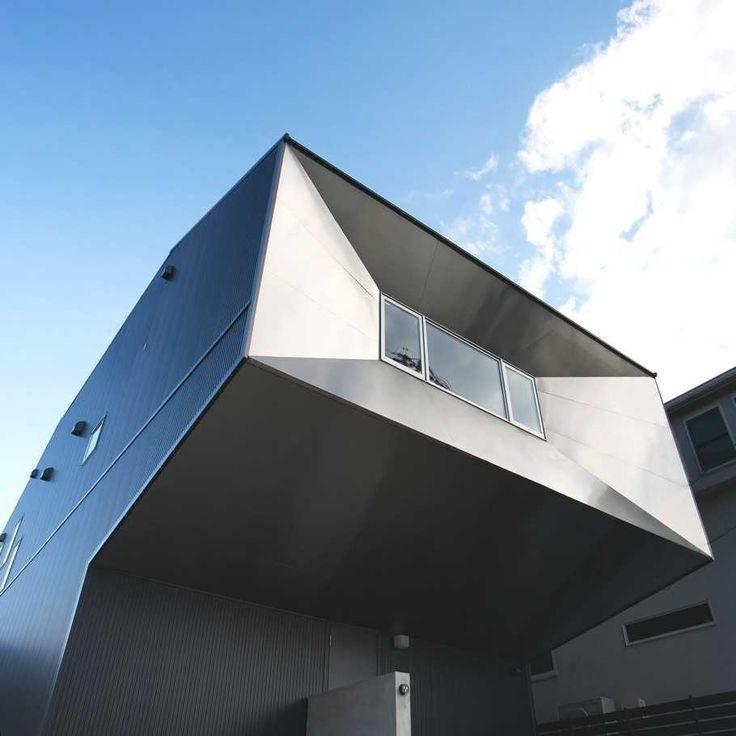 Футуристический дом в Японии