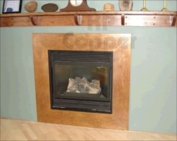 45 Best Copper Fireplace Surrounds Images On Pinterest