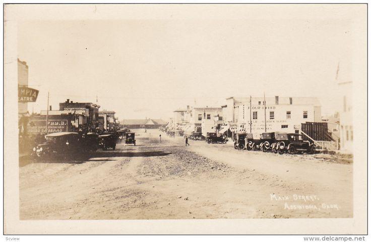 RP: Main Street , ASSINIBOIA , Saskatchewan , Canada , 10-20s
