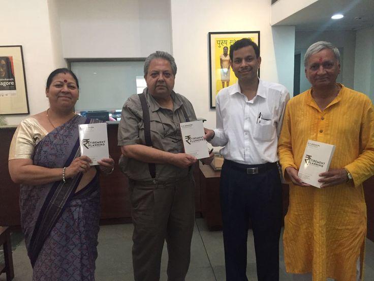 Mohapatra with Prof Rajeev Lochan, Director NGMA