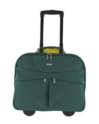 Skyline Rolling Briefcase Forest by Baggallini #ShelburneCountryStore - Skyline Rolling #Briefcase Forest, $129.95 (http://www.shelburnecountrystore.com/skyline-rolling-briefcase-forest/)