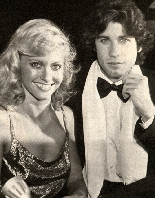 Pictures of John Travolta And Olivia Newton John Young - #rock-cafe
