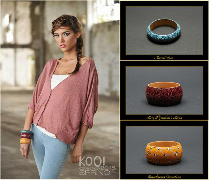 Knitwear: KOOI Knitwear www.kooi-knit.com/ (Photo: Mészáros Zoltán) Accessories: Matilda-Dolls & Bracelets www.matilda-dolls... (Photo: Mikus Caba)