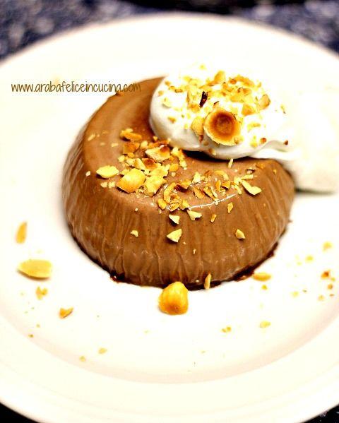 arabafelice in cucina panna cotta alla nutella