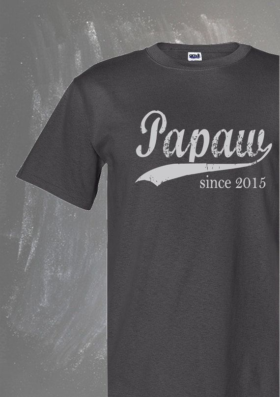 The Papaw tshirt is the perfect personalized gift for men! The vintage style suits a new Papaw, an established Papaw or a Papaw to be. This tee works @ https://www.etsy.com/listing/231871002/papaw-since-any-year-personalized-t?ga_order=most_relevant&ga_search_type=all&ga_view_type=gallery&ga_search_query=papaw&ref=sr_gallery_3