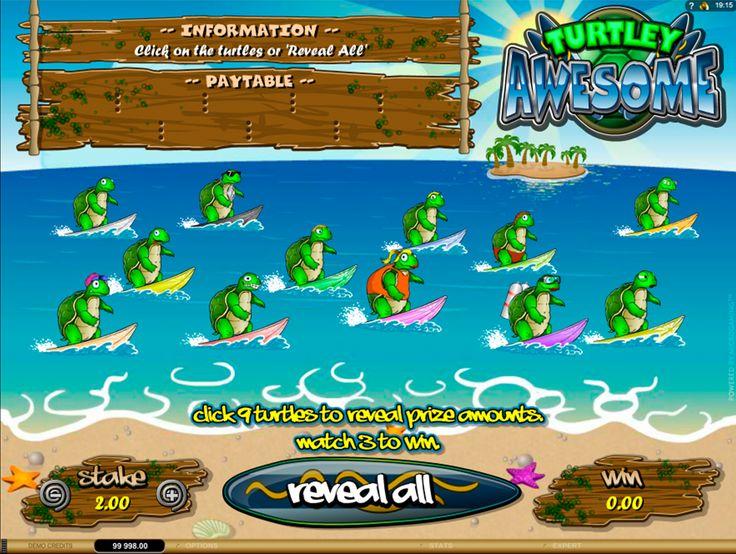 Turtley Awesome #Rubbellos online von #Microgaming! Spiele die beliebte Rubbellose online und frei, ohne die Einsätze zu setzen