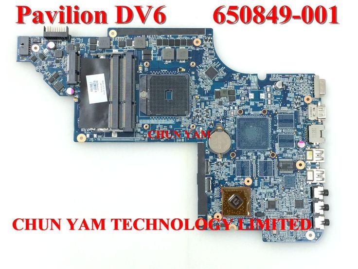 Wholesale Laptop Motherboard 650849-001 for HP Pavilion DV6 DV6-6000 Notebook PC System