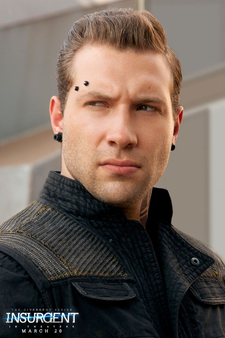 Can you learn to live with the blood on your hands? Jai Courtney as Eric in @The Divergent Series: | Insurgent.