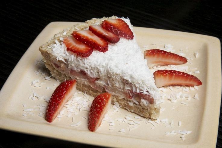 Strawberry Coconut Macadamia Cheesecake. So damn delish, it'll make ...
