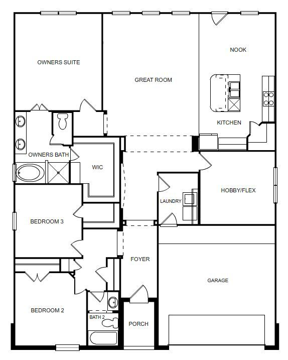 The Summit- Cloud Country Floorplans