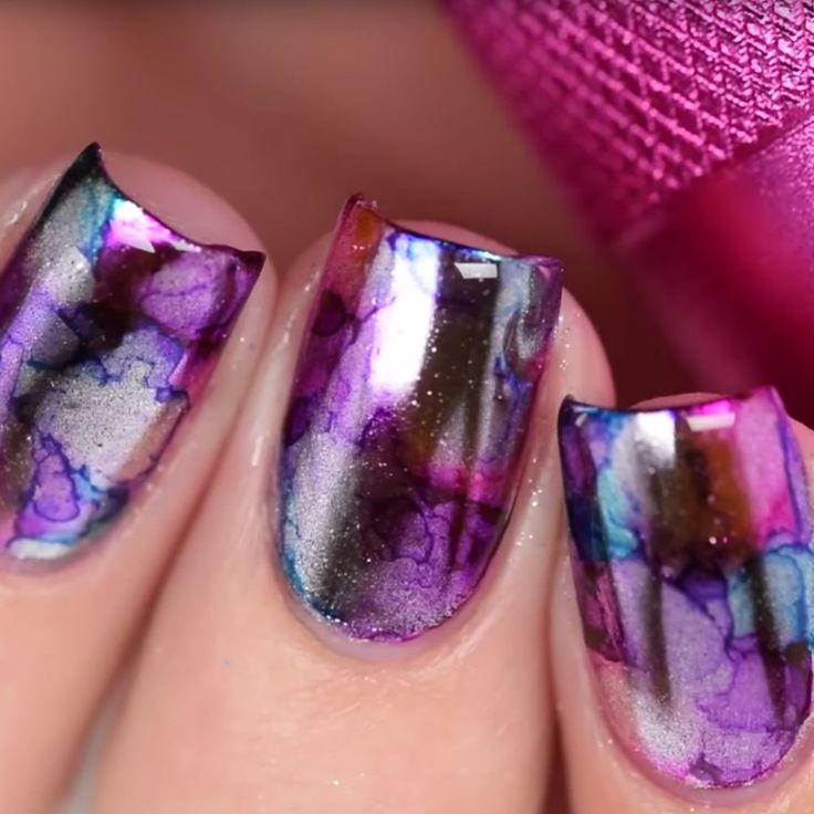 Mirror Sharpie Nail Art Is the Latest YouTube Manicure Craze