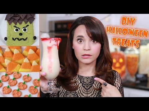 Click here to learn how to make 4 different Halloween party treats with Nerdy Nummies!