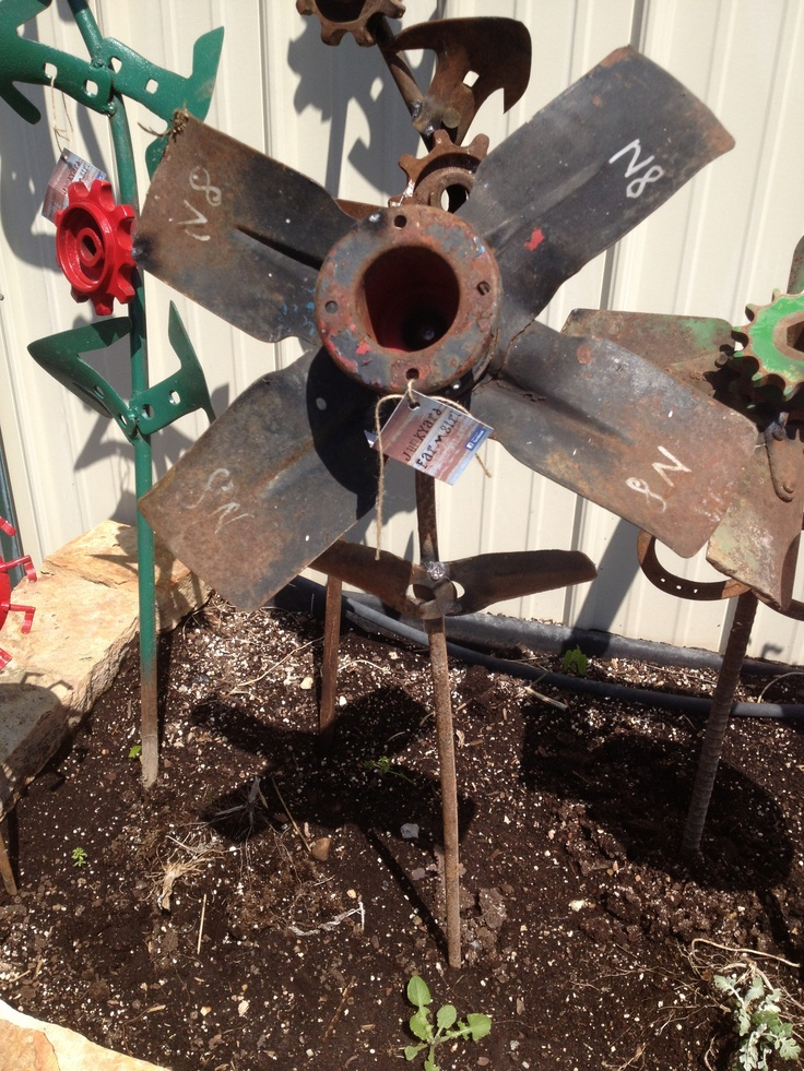 Top 11 Ideas About Old Mower Blades Art On Pinterest