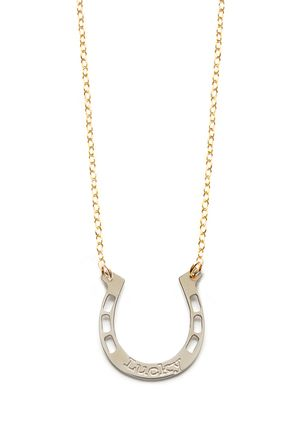 MIRIAM MERENFELD Horseshoe Pendant Necklace