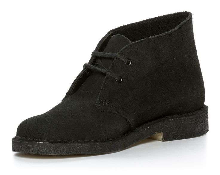 Clarks Originals Desert Boot - Svarta 303191 feetfirst.se
