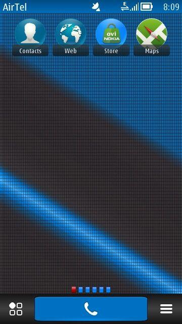 Free Blue Laser theme by sevimlibrad on Tehkseven