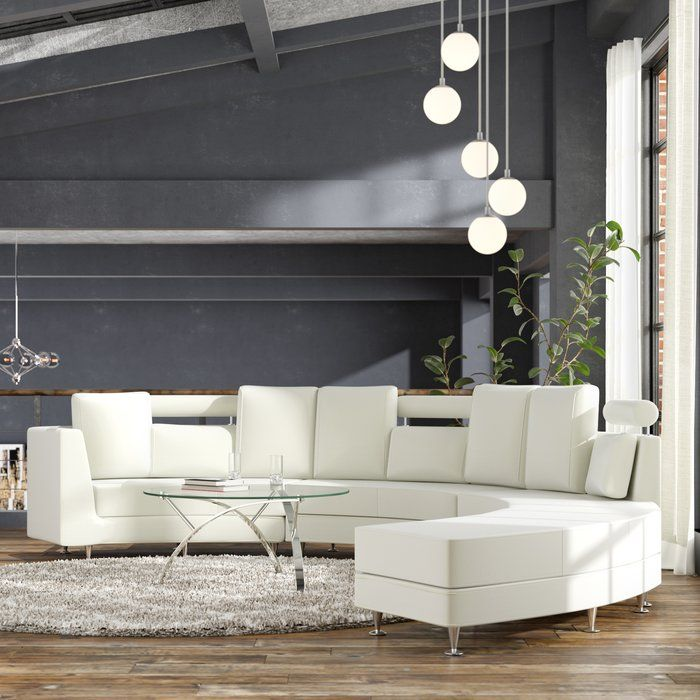 Groovy Canizales Symmetrical Leather Symmetrical Sectional With Inzonedesignstudio Interior Chair Design Inzonedesignstudiocom