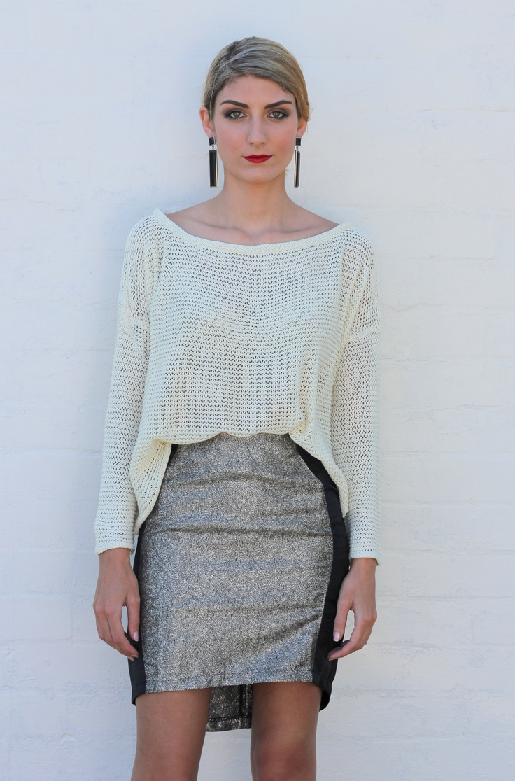 Extremely comfortable cream knit. Only $24.99 on www.trendabelle.com
