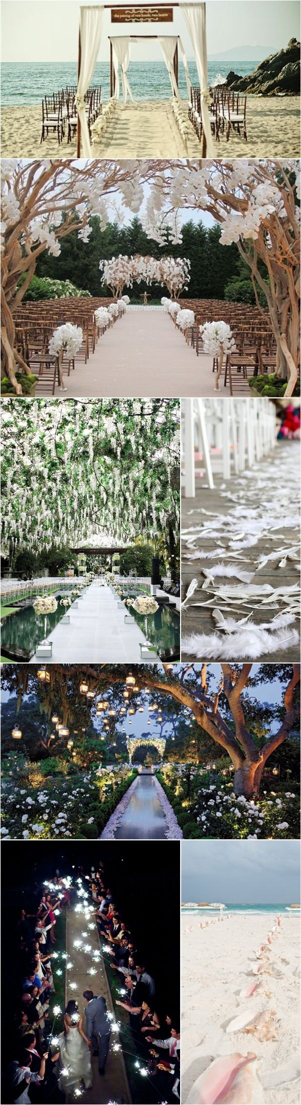 Praise Wedding » Wedding Inspiration and Planning » 24 Unique Aisle Décor Ideas!